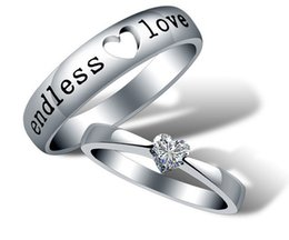 lovers 925 silver Ring sterling silver ring set bague engagement ring wedding gift for woman JE05
