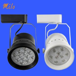Wholesale Showcase Tracking Light - Free shipping LED track light, 7W 9W 12W, ceiling mounted or track mounted,applied to mall shop showcase showroom aisle corridor