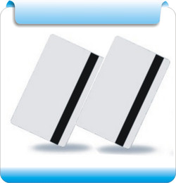 Wholesale - 200pcs White write&read 2750OE   Blank Hico Magnetic Stripe Card, HiCo card ,1,2,3track