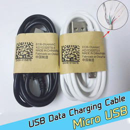 Wholesale High Quality outlet thick Micro USB Data Sync charger cable Cord wire for Samsung GALAXY S3 S4 S5 S6 Edge iphone