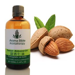 Wholesale Cold Pressed Organic Sweet Almond Oil Moisturizing Skin Massage Oils For Beauty Spa Anti Sensitive Skin Baby Oil