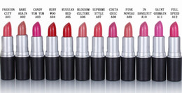 Christmas promotion ! lowest price ! newest makeup Factory Outlet 3g 12 colors lipstick epacket Free Shipping