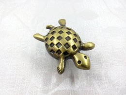 Wholesale Kids Dresser Drawer Knobs Pulls Handles Sea turtle Antique Bronze Baby Animal Decorative Knob Childrens Cabinet Knobs Handle