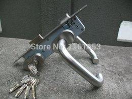 Wholesale Cofre Special Offer Freeshipping Fingerprint Door Lock Aluminum Alloy Model Steel Ultra Narrow Gate Enclosure