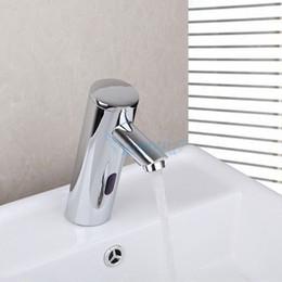 Wholesale Smart Touchless cock Sensor Faucet motion sensor faucet electronic water valve digital faucet Active Electronic Infrared Sensor tap