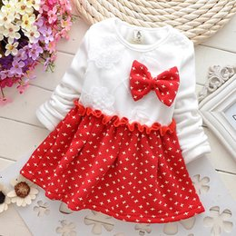 Wholesale 2015 Hello kitty Baby Kids dress Christmas snowflake dress Girl Princess Dress Clothes Autumn Leopard girls dresses Kt dot plaid