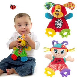 Wholesale Baby Infant Preferred Soft Appease Towel Toys Calm Doll Teether Developmental teeth ring paper