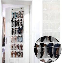 Wholesale Pocket Door Hanging Holder Shoe Organiser Storage Rack Wall Bag Room Best Price