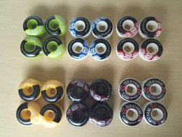 Wholesale Pro Skate Aggressive Wheels mm Element wheel and PIG black OPS Skate Ball Bearings with spacers