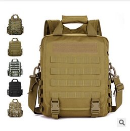 Wholesale 2016 Molle Woodland Sustainment Multi functional Advance Army Durable Tactical Handbags Messenger Shoulder Cross Body Tote Bag