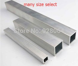 Wholesale Hot Sale Aluminum square tube DIY remote control boat frame Technology Production Accessories aluminum tube DIY model accessories