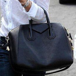 Wholesale Brand Women Leather Handbags Tote Top New Shoulder Bags Antigona Duffle Medium Grain Boston Bag Black Brown
