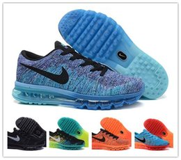 2016 Shoes Run Air Max Nike Air Max 2014 Flyknit Men's Running Shoes Nike Running Shoes Sneakers Lightweight Breathable Athletic Shoes Free Shipping affordable Shoes Run Air Max