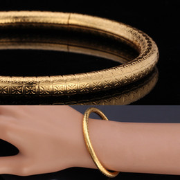 Simple Style Bracelets Bangles for Woman Man Fashion 18K Real Gold Plated Platinum Plated Jewelry Brand H359