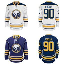 Wholesale Factory Outlet Buffalo Sabres Ryan O Reilly Jersey Home Blue Road White Ryan O Reilly OReilly Ice Hockey Jerseys Cheap All Stitched Qual