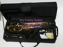 Wholesale Selmer Black Nickel Tenor Sax Saxophone with Case High Quality Musical instruments