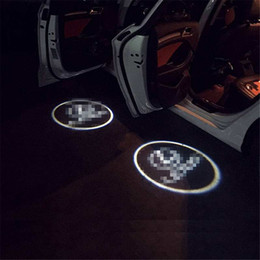 Case for infiniti Case for opel Car Logo LED Interior Lights Welcome Door Ghost Shadow Lamps 12V