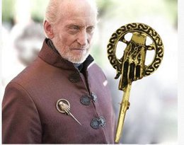 Wholesale Game of Thrones DVD hand of the king lapel Pin Brooch A Song of Ice and Fire Brooches amazon188