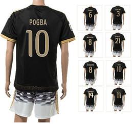 2017 maillots de sport 15-16 nouvelles 8 maillots de football # MARCHISIO Sport Montolivo Set, Customized 10 # kits Pogba Porter Top Football Jersey, uniformes Cheap de gros Porter peu coûteux maillots de sport