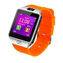 Wholesale 2015 new fashion smart watches dz09 with SIM Card slot Phone Call Bluetooth Sleep Monitor Pedometer