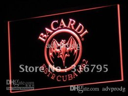 Wholesale a078 r Bacardi Breezer Bat Bar NEW NR Gift Light Signs