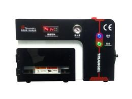 Wholesale All in One Vacuum OCA Laminating Machine Mobile Phone LCD Screen Repair Laminator with Debubbler Vacuum Pump Air Compressor