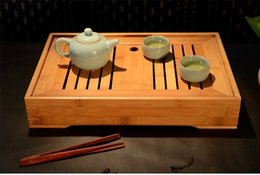 Wholesale High Grade Bamboo Gongfu Tea Tray Serving Table cm