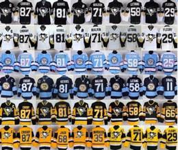 Wholesale Pittsburgh Penguins Hockey Jerseys Kris Letang Evgeni Malkin Phil Kessel Sidney Crosby Mario Lemieux Jaromir Jagr