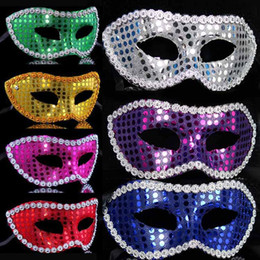 Multicolor Sexy Women Mask With Sequins Half Mask Masquerade Mask Braid Mask Venetian Mask Party Mask For Weeding Christmas Birthday Party