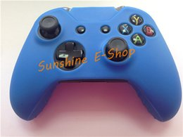Wholesale-Original For Xbox One Controller Wireless Control for Xbox One Joystick with Free Silicone Gel Skin Case Cover Colors