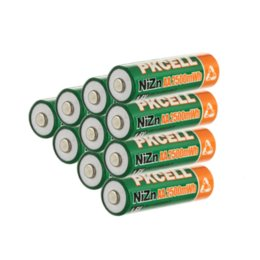 10PCS lot 1.6V AA Battery 2500mWh Ni-Zn Rechargeable Battery battery rechargeable battery rechargeable batteries aa charger