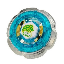 Wholesale Rock Leone WB Metal Fusion Fight D Beyblade BB30 Without Launcher Children Birthday Party Gift Toys