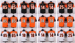 Wholesale 2016 Elite Andy Dalton AJ Green Giovani Bernard Tyler Eifert Cheap discount football jerseys embroidery Mix Order