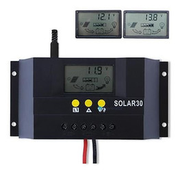 Wholesale 10A A A A V V MPPT PWM contorl mode Solar Charge Controller Solar Panel Battery Regulator