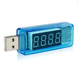 Wholesale KWS USB current and voltage testequipment pressure gauge current testerUSB mobile power tester