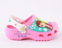 Sell like hot cakes Frozen Beach shoes anna and elsa princess summer sandals