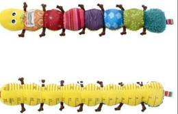 Wholesale A clearance sale The caterpillar music caterpillar Lamaze plush toys baby newborn gift Baby Toys Orange