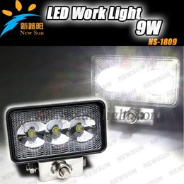 Wholesale 12V V Super bright W LED Work Light Off Road ATV x4 Fishing Boat Tractor Truck trailer flood working light fog headlamp kit