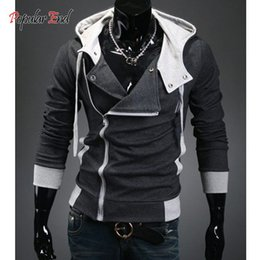 Wholesale-Winter&Autumn Men's Fashion Brand Hoodies Sweatshirts ,Casual Sports Male Hooded Jackets with cap dropship B19