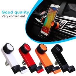 Support de téléphone universel pour téléphone portable Ventilation Support d'air pour Iphone 6 Plus Support pour Samsung S6 edge / S5 GPS Movil Suporte DHL à partir de vent mount gps fournisseurs