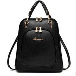 Wholesale FLYING BIRDS women backpack leather backpacks women bag school bags backpack women s travel bags Rucksack bolsas LS4504fb