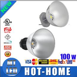 x10pcs CE ROHS Approval 100W LED High Bay Light 85-265V Industrial LED Lamp 45 Degree LED Lights High Bay Lighting 10000LM