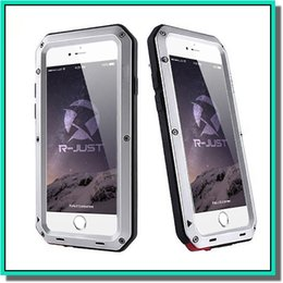 Wholesale Hot selling Waterproof Metal Case Hard Aluminum Dirt Shock Proof Mobile Cell Phone Cases Cover for i phone inch