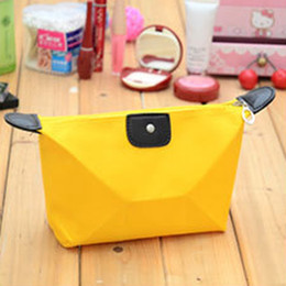 Wholesale-Free Shipping Women Cosmetic Bag Clutch Hanging Toiletries Travel Organizer Casual Purse Make Up Bag
