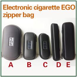 Ego Cases Zipper Bag Leather Long Pouch Carry Box E Cigarettes Carrying Case for Evod CE4 CE5 MT3 Protank Vaporizer Pen Starter Kit