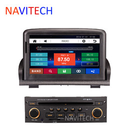 Wholesale Car DVD GPS player for peugeot Bluetooth iPod Radio stereo RDS CAN BUS Free sd card with map