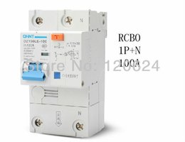 Wholesale CHINT P N A high power HZ HZ Residual current Circuit breaker with over current protection RCBO