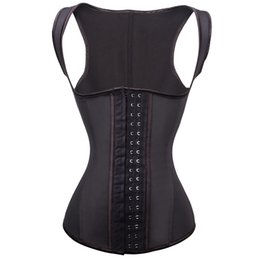 New Arrival Women Latex corset Waist Training Belt Latex Rubber Sport Waist Trainer Cincher Shaper Corset Shaper Waist Training Corset