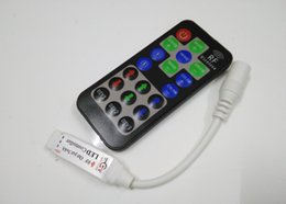 12A DIY RF Mini RGB Remote Controller for 5050 3528 SMD LED Strip Lights Wireless 23 Dynamic Modes Dimmer 5V 12V 24V Dropshipping CE ROSH