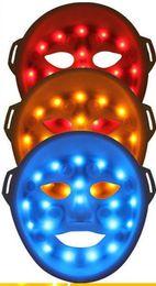 LED light face mask skin led mask manual LED Light Therapy LED facial mask tightening our skin restraining acne eliminating wrinkles